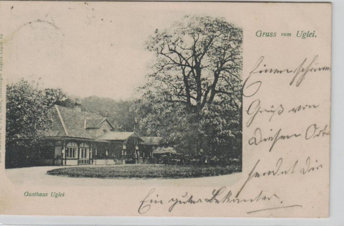Gasthaus Uglei...alte Karte    (ke8279  ) siehe scan 0