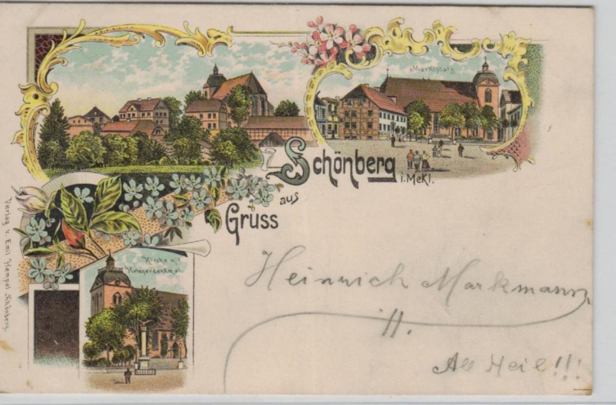 Schönberg  ...alte Karte    (ke8275  ) siehe scan 0