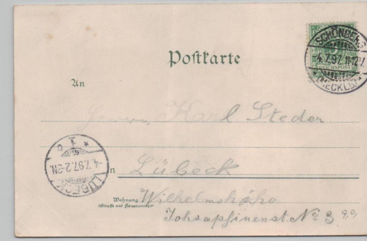 Schönberg  ...alte Karte    (ke8275  ) siehe scan 1