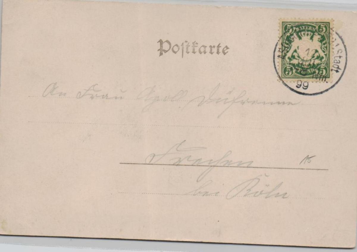Untergartenhof ...alte Karte    (ke8227  ) siehe scan 1