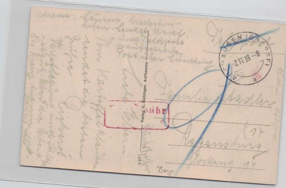 Aufhausen ......alte Karte    (ke8255  ) siehe scan 1