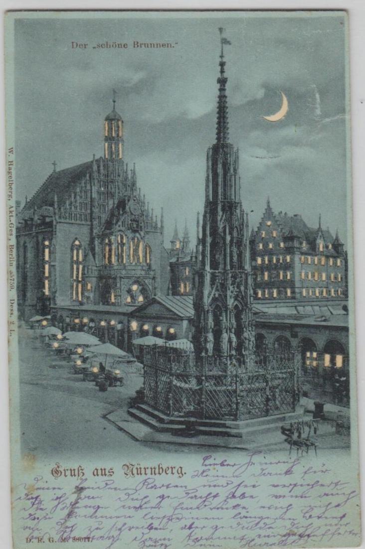 Nürnberg halt gegen Licht.....alte Karte    (ke8299  ) siehe scan 0
