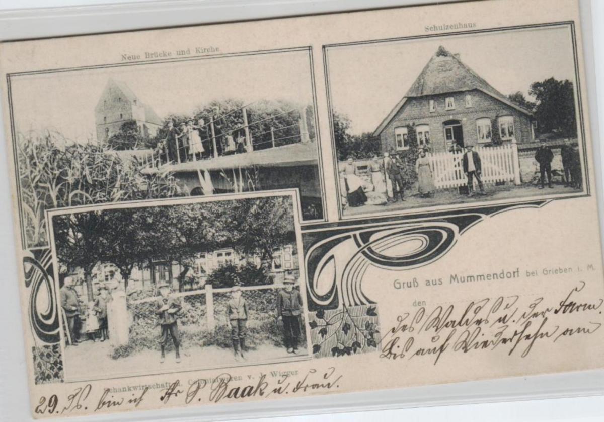 Mummendorf  ...alte Karte    (ke8207  ) siehe scan 0