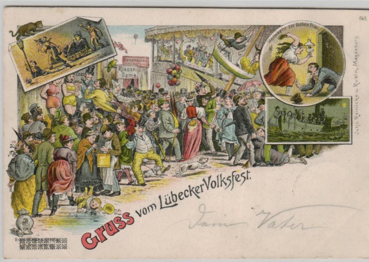 Lübeck  ...alte Karte    (ke8209  ) siehe scan 0
