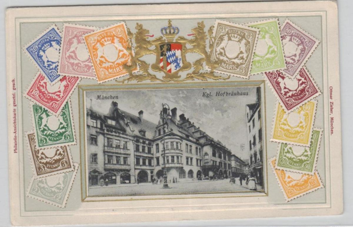 München-Präge ...alte Karte    (ke8385  ) siehe scan 0