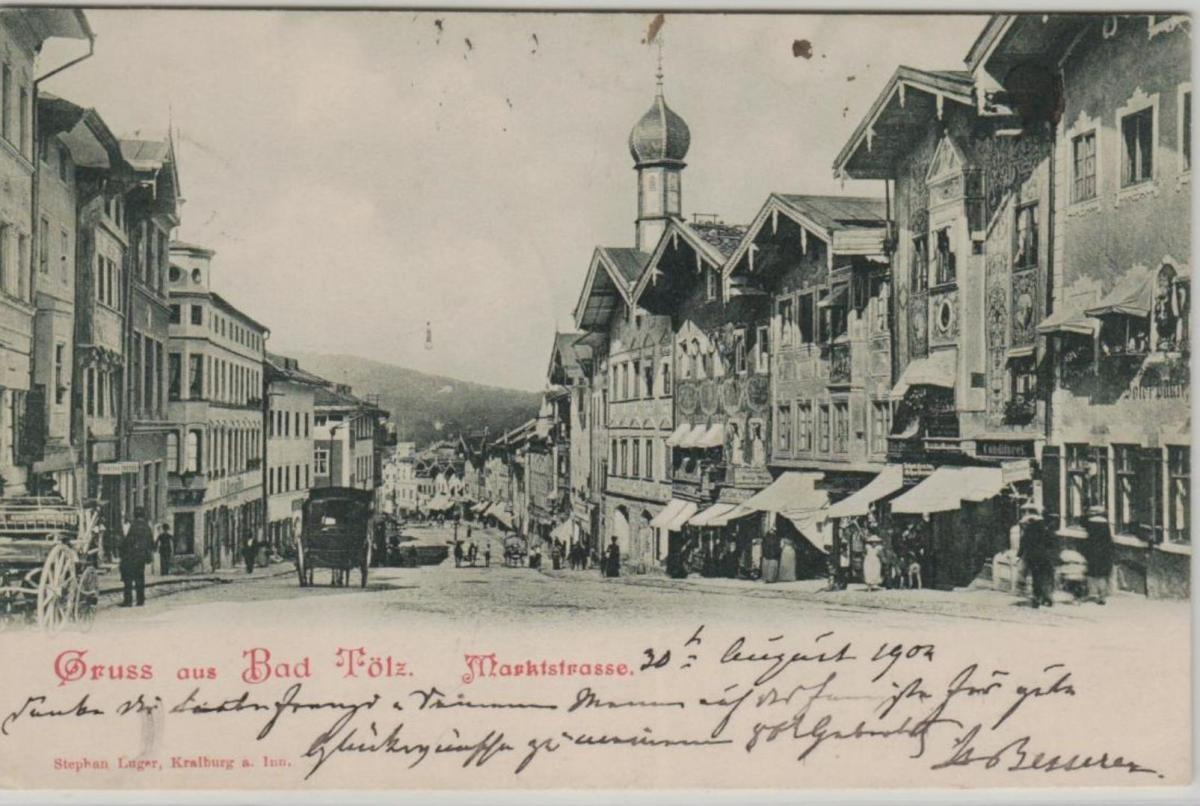 Bad Tölz  ...alte Karte    (ke8355  ) siehe scan 0