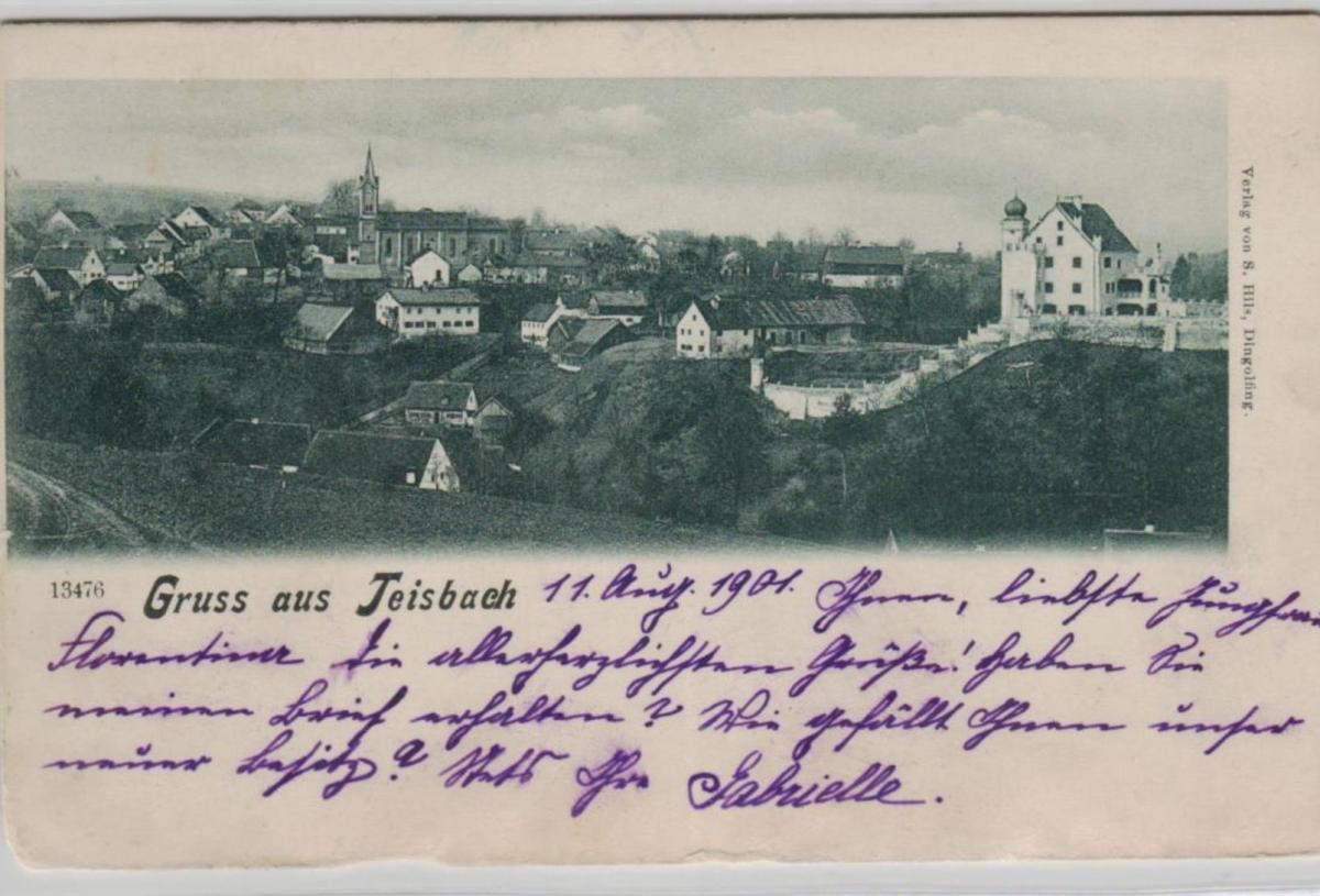 Teisbach  ...alte Karte    (ke8361  ) siehe scan 0