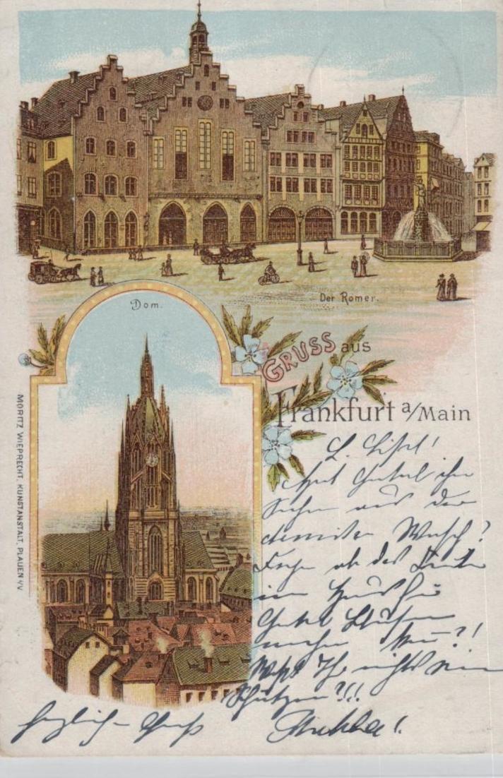 Frankfurt.. ...alte Karte    (ke8317  ) siehe scan 0