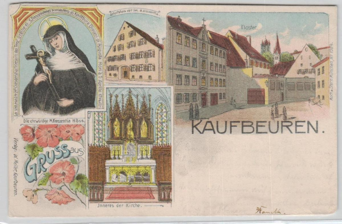 Kaufbeuren   .. ...alte Karte    (ke8315  ) siehe scan 0