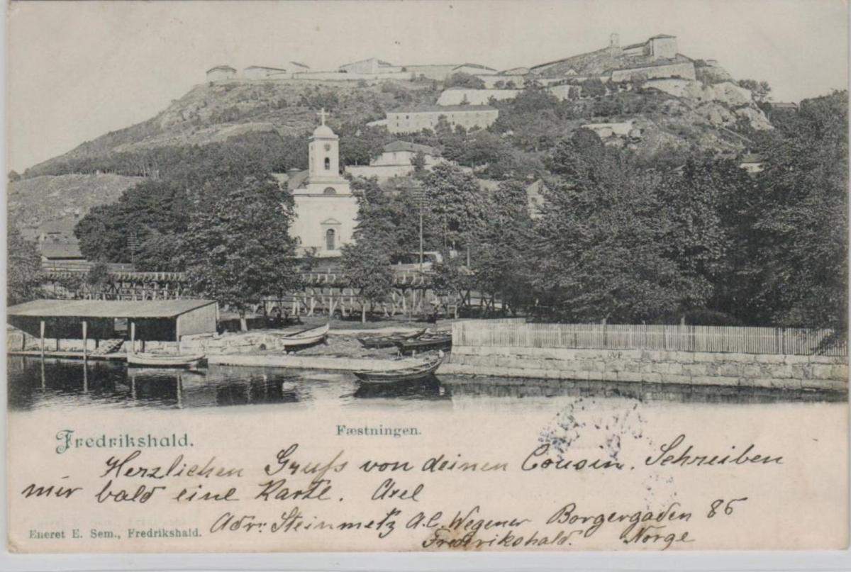Frederikshold .. ...alte Karte    (ke8397  ) siehe scan 0