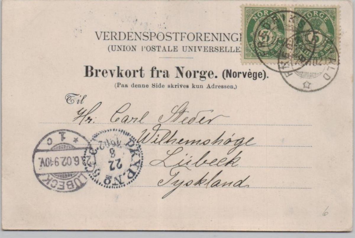 Frederikshold .. ...alte Karte    (ke8397  ) siehe scan 1