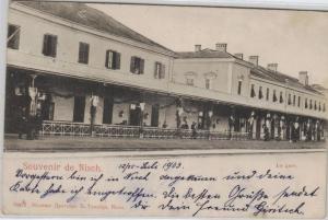 La Gare Bahnhof ?... ...alte Karte    (ke8495  ) siehe scan