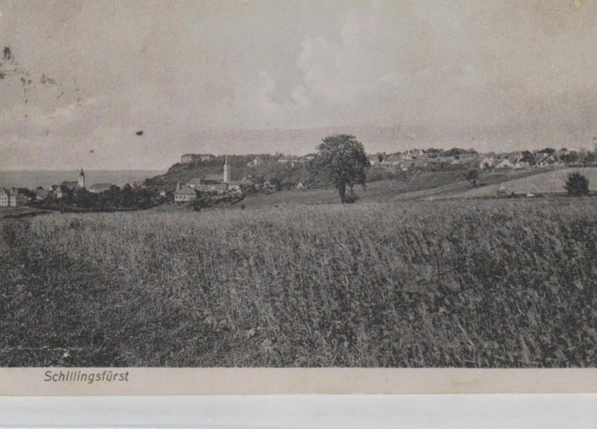 Schillingfürst......alte Karte    (ke8455  ) siehe scan 0