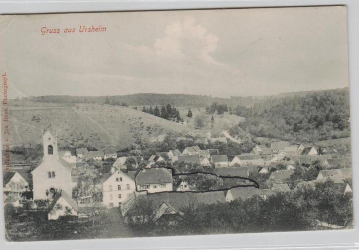 Ursheim....alte Karte    (ke8505  ) siehe scan 0