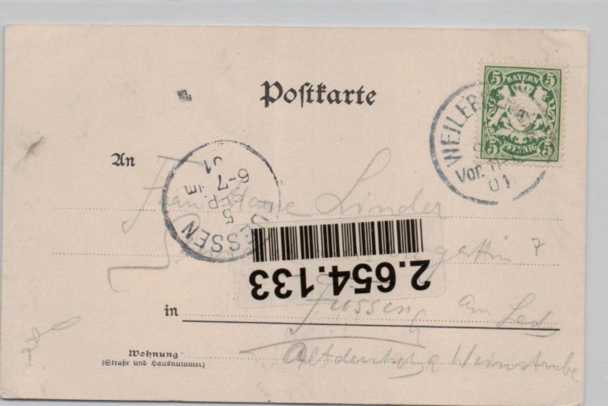 Weiler....alte Karte    (ke8509  ) siehe scan 1
