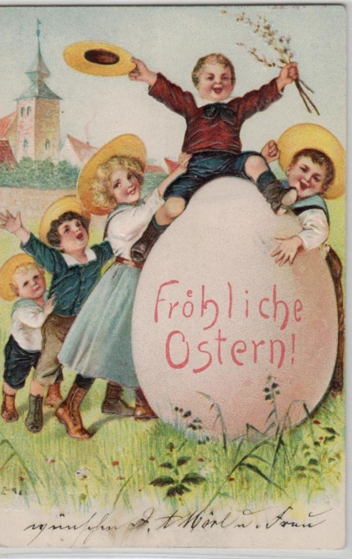 Ostern Präge - .....alte Karte    (ke8553  ) siehe scan 0