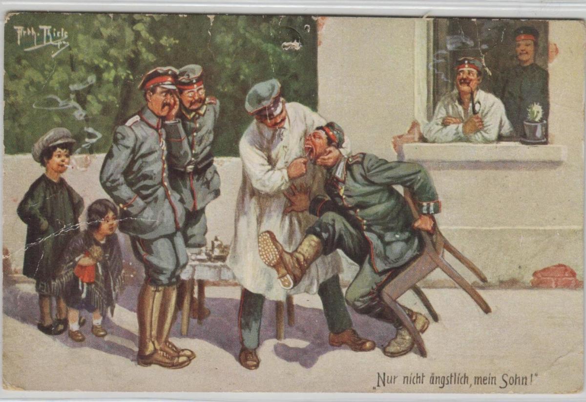 Militär-A.Thiele Humor .....alte Karte    (ke8541  ) siehe scan 0