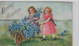 Geburtstag Präge  .....alte Karte    (ke8549  ) siehe scan