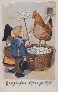 Ostern  .....alte Karte    (ke8557  ) siehe scan