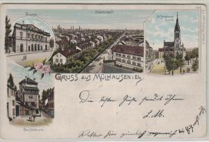 Mühlhausen  .....alte Karte    (ke8497  ) siehe scan