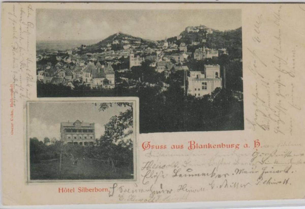 Blankenburg  .....alte Karte    (ke8531  ) siehe scan 0
