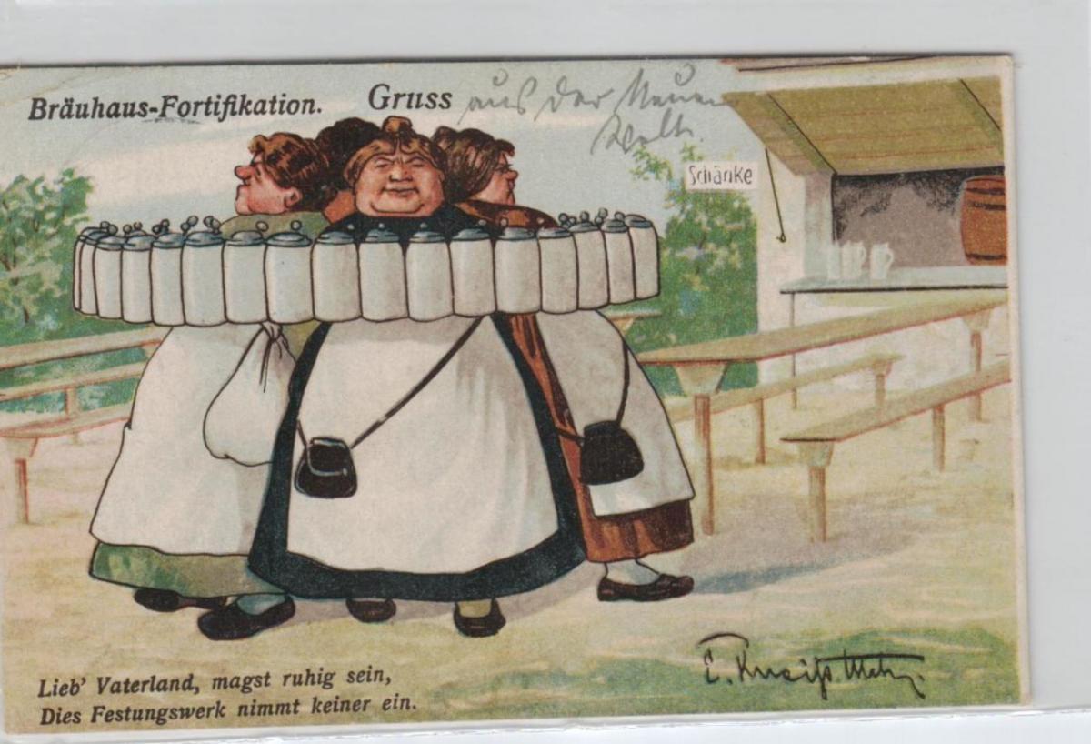 Bier-Humor  .....alte Karte    (ke8199  ) siehe scan 0