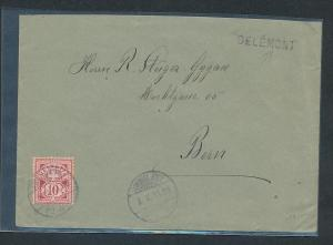Schweiz-alter Beleg-Stempel..... (oo3877 ) siehe scan