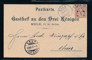 Schweiz-alter Beleg-Stempel..... (oo3869 ) siehe scan