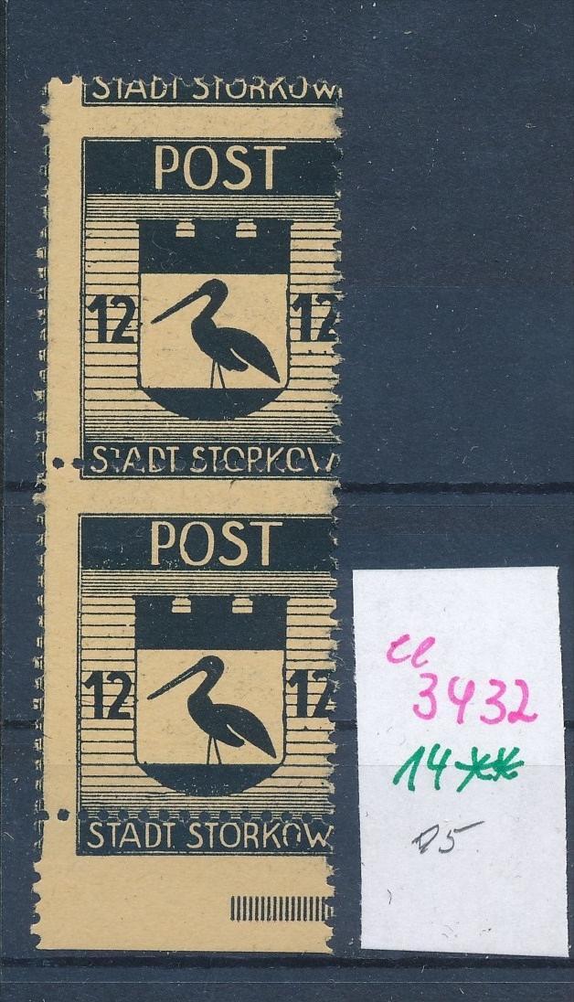 Storkow  Nr. 14 **  Abart   (ee3432 ) siehe scan ! 0