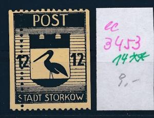 Storkow  Nr. 14 **  Abart   (ee3453 ) siehe scan !