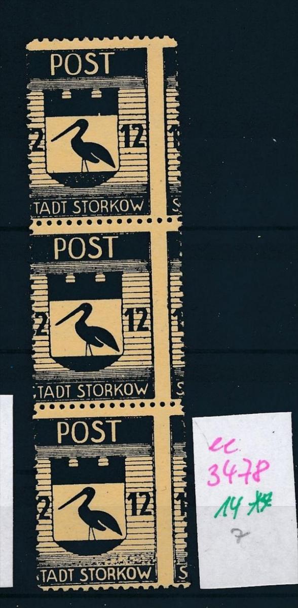 Storkow  Nr. 14 **  Abart   (ee3478  ) siehe scan ! 0