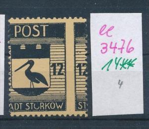 Storkow  Nr. 14 **  Abart   (ee3476  ) siehe scan !