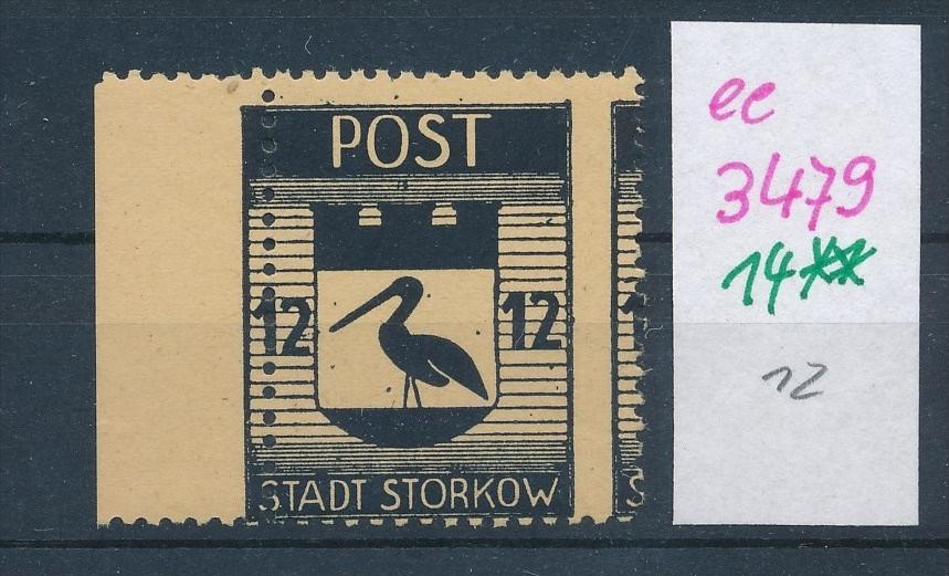 Storkow  Nr. 14 **  Abart   (ee3479  ) siehe scan ! 0