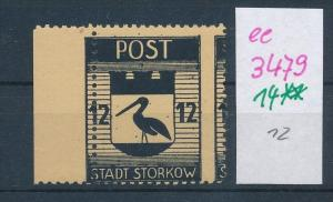 Storkow  Nr. 14 **  Abart   (ee3479  ) siehe scan !