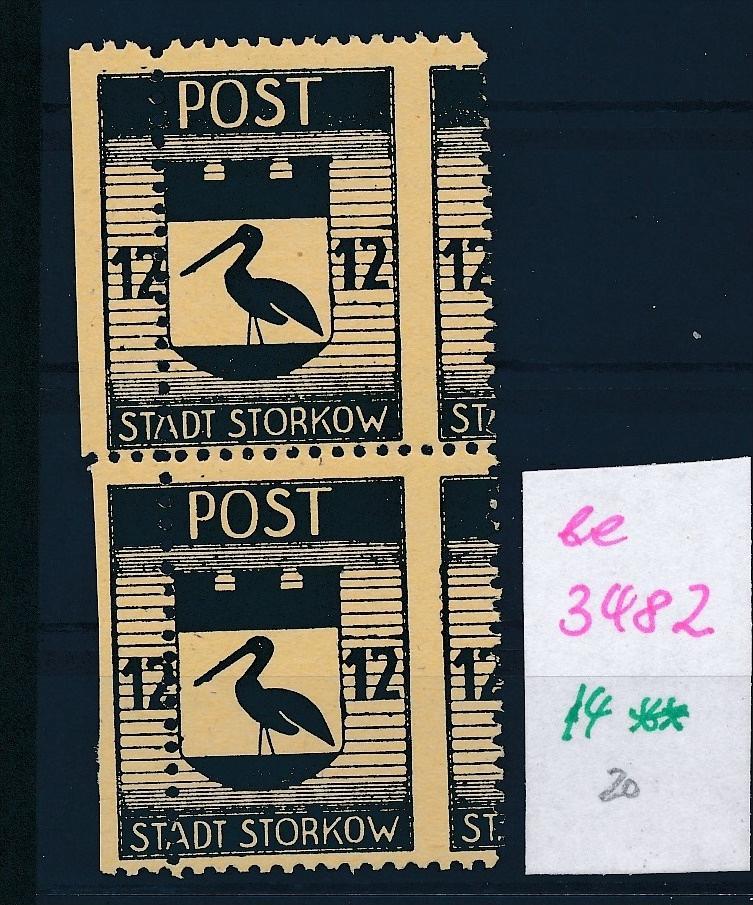 Storkow  Nr. 14 **  Abart   (ee3482  ) siehe scan ! 0