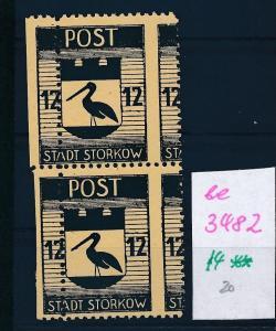 Storkow  Nr. 14 **  Abart   (ee3482  ) siehe scan !