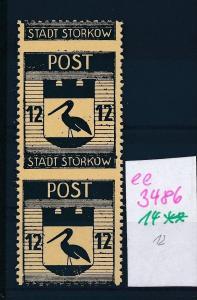 Storkow  Nr. 14 **  Abart   (ee3486  ) siehe scan !