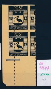 Storkow  Nr. 14 **  Abart   (ee3487  ) siehe scan !