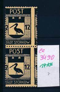 Storkow  Nr. 14 **  Abart   (ee3490  ) siehe scan !
