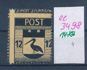 Storkow  Nr. 14 **  Abart   (ee3498  ) siehe scan !