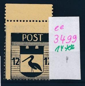 Storkow  Nr. 14 **  Abart   (ee3499  ) siehe scan !