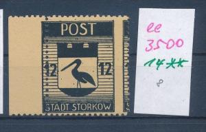 Storkow  Nr. 14 **  Abart   (ee3500  ) siehe scan !