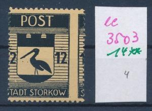 Storkow  Nr. 14 **  Abart   (ee3503  ) siehe scan !