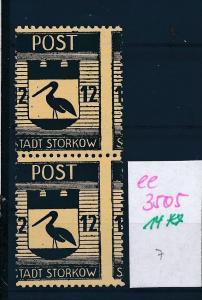 Storkow  Nr. 14 **  Abart   (ee3505  ) siehe scan !