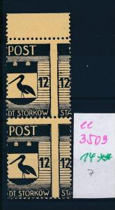 Storkow  Nr. 14 **  Abart   (ee3509  ) siehe scan !