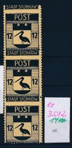 Storkow  Nr. 14 **  Abart   (ee3512  ) siehe scan !