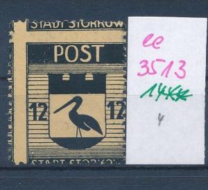 Storkow  Nr. 14 **  Abart   (ee3513  ) siehe scan !