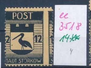Storkow  Nr. 14 **  Abart   (ee3518  ) siehe scan !