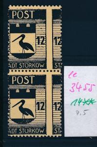 Storkow  Nr. 14 **  Abart   (ee3455  ) siehe scan !