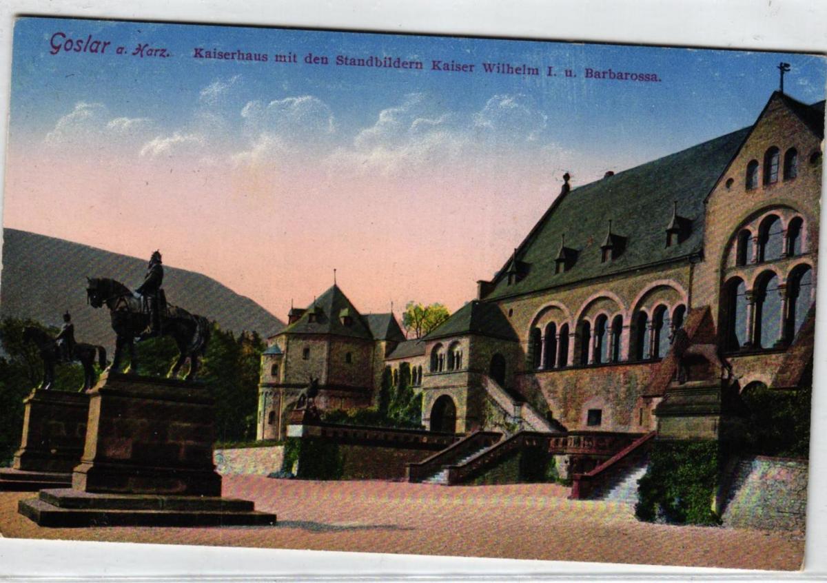 Goslar  ....alte Karte    (ke6913  ) siehe scan 0